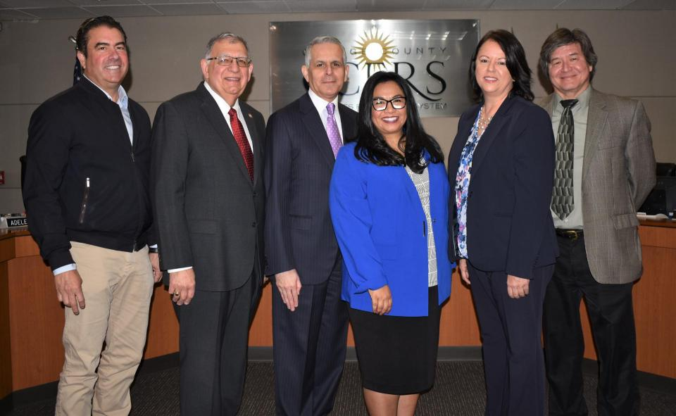 Board Members given Oath of Office on January 21, 2020